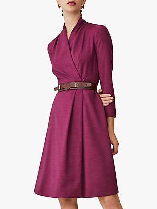 The Fold Hampton Dress, Pink