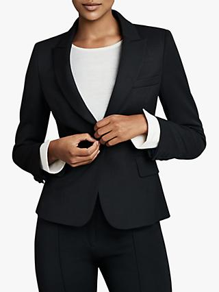The Fold Wool Blend Tailored Jacket