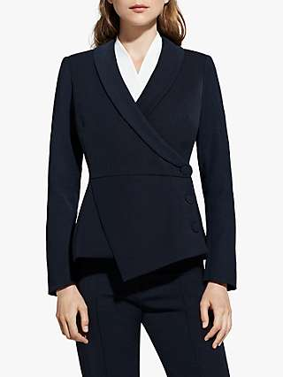 The Fold Wool Blend Asymmetric Tuxedo Jacket