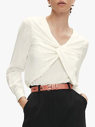 The Fold Ayrshire Blouse, Ivory