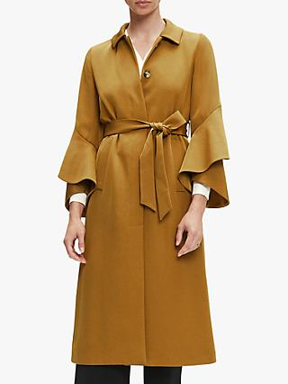 The Fold Napier Trench Coat, Camel