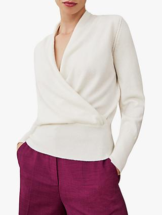 The Fold Howell Cashmere Sweater, Ivory