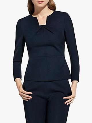 The Fold Belmore Top, Navy