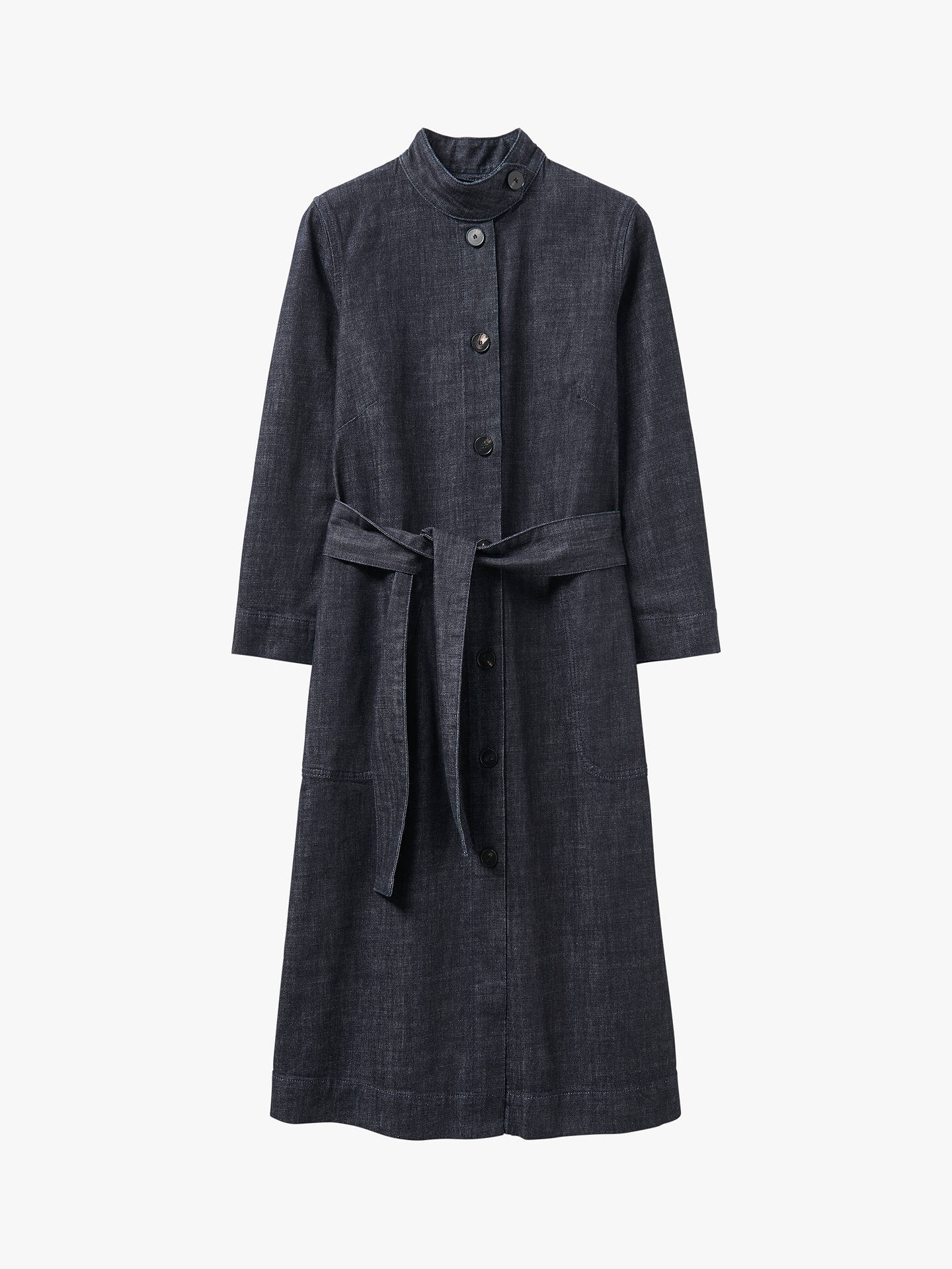 Buy Toast Denim Dress, Indigo, 8 Online at johnlewis.com