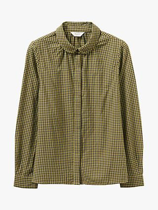 Toast Ora Check Cotton Shirt, Olive