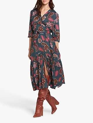 Helen McAlinden Beverley Floral Midi Dress, Paisley