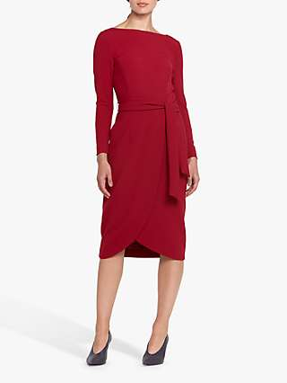 Helen McAlinden Celina Wrap Knee Length Dress