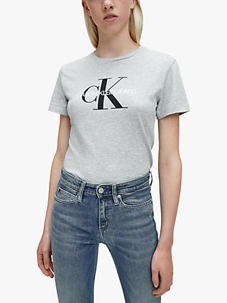 Calvin Klein Monogram Logo Regular Fit T-Shirt