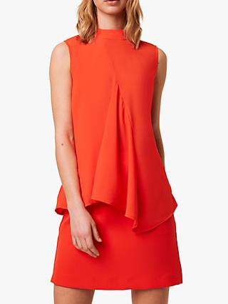 French Connection Abena Sleeveless Funnel Neck Top