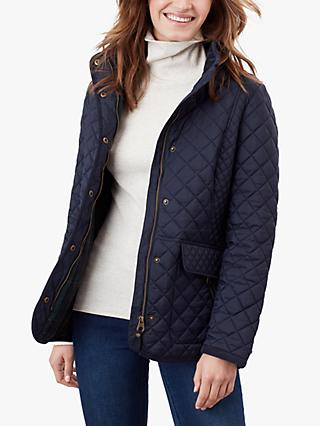 Joules Newdale Quilted Jacket, Marine Navy