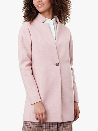 Joules Addington Mid Length Herringbone Coat