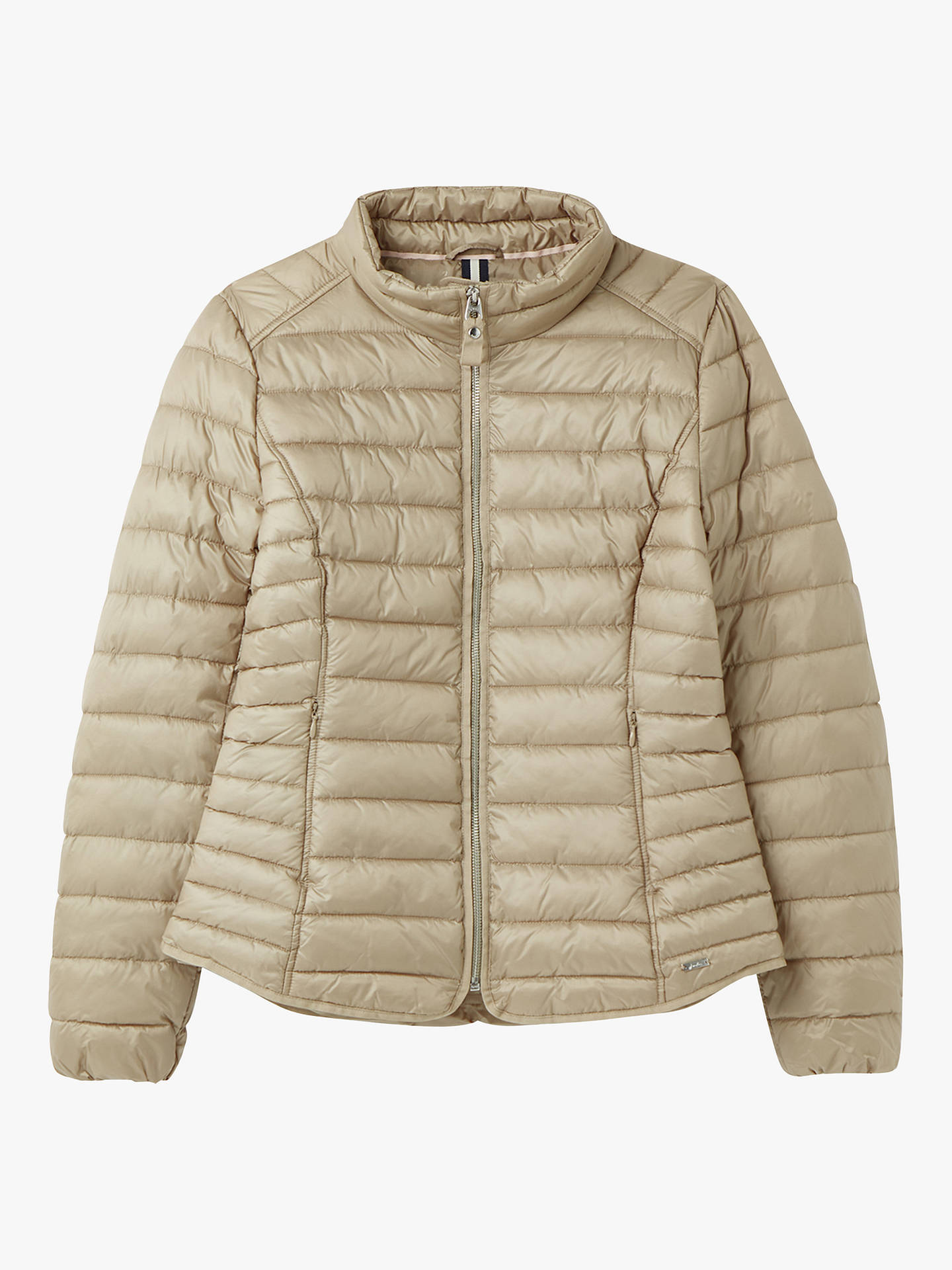 Buy Joules Canterbury Padded Jacket, Metallic Beige, 16 Online at johnlewis.com