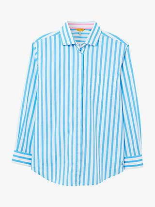 Joules Amilla Striped Shirt, Blue