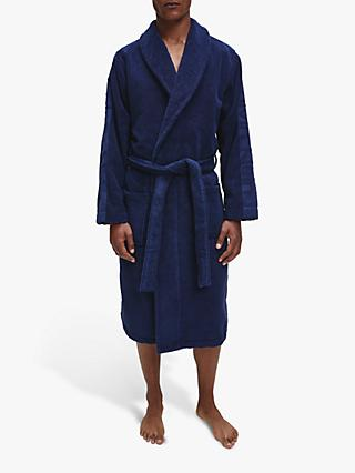 Calvin Klein Cotton Wrap Dressing Gown