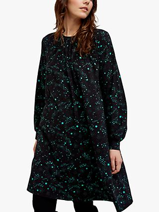 People Tree Ebba Star Dress, Black