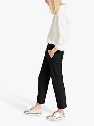 NRBY Mandy Tapered Trousers, Black