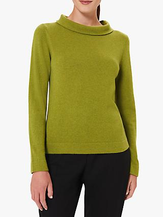 Hobbs Audrey Sweater, Bright Green