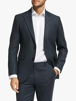 Hackett London Chelsea Birdseye Weave Tailored Suit Jacket