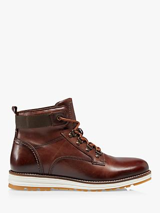 Bertie Cannons Casual Wedge Lace Up Hiker Boots