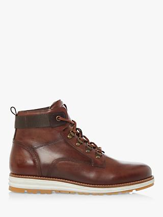 Bertie Caladonian Casual Hiker Lace Boots, Brown