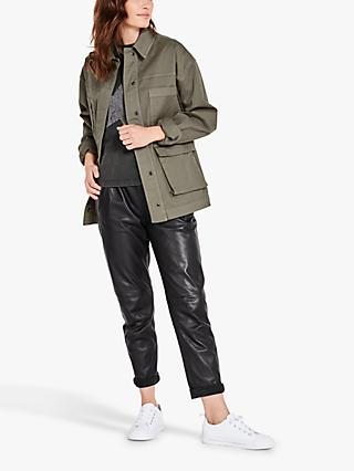 hush Lakey Jacket, Khaki