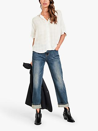 hush Kate Loose Fit Shirt, Ecru