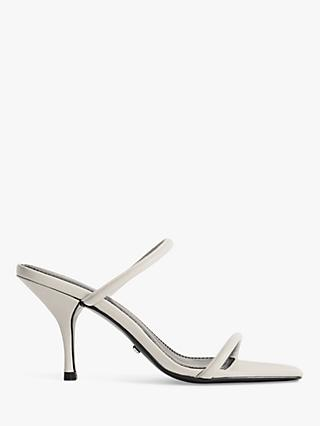 Reiss Magda Leather Strappy Heeled Sandals