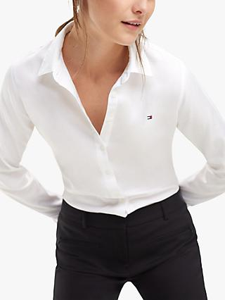 Tommy Hilfiger Regular Fit Shirt, Classic White