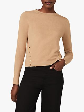 Phase Eight Bella Knit Top, Camel