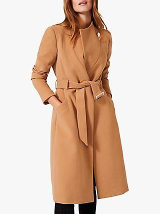 Phase Eight Susie Collar Coat, Camel