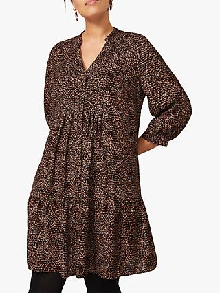 Studio 8 Penele Spot Print Swing Dress
