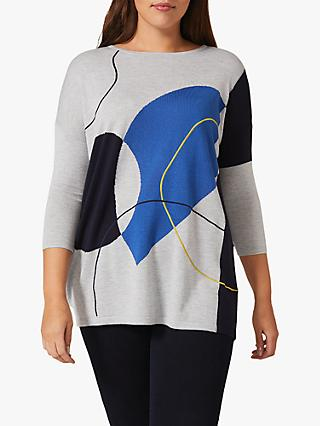 Studio 8 Francis Abstract Shape Knit Top, Multi