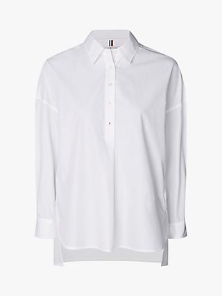 Tommy Hilfiger Oversized Shirt, White