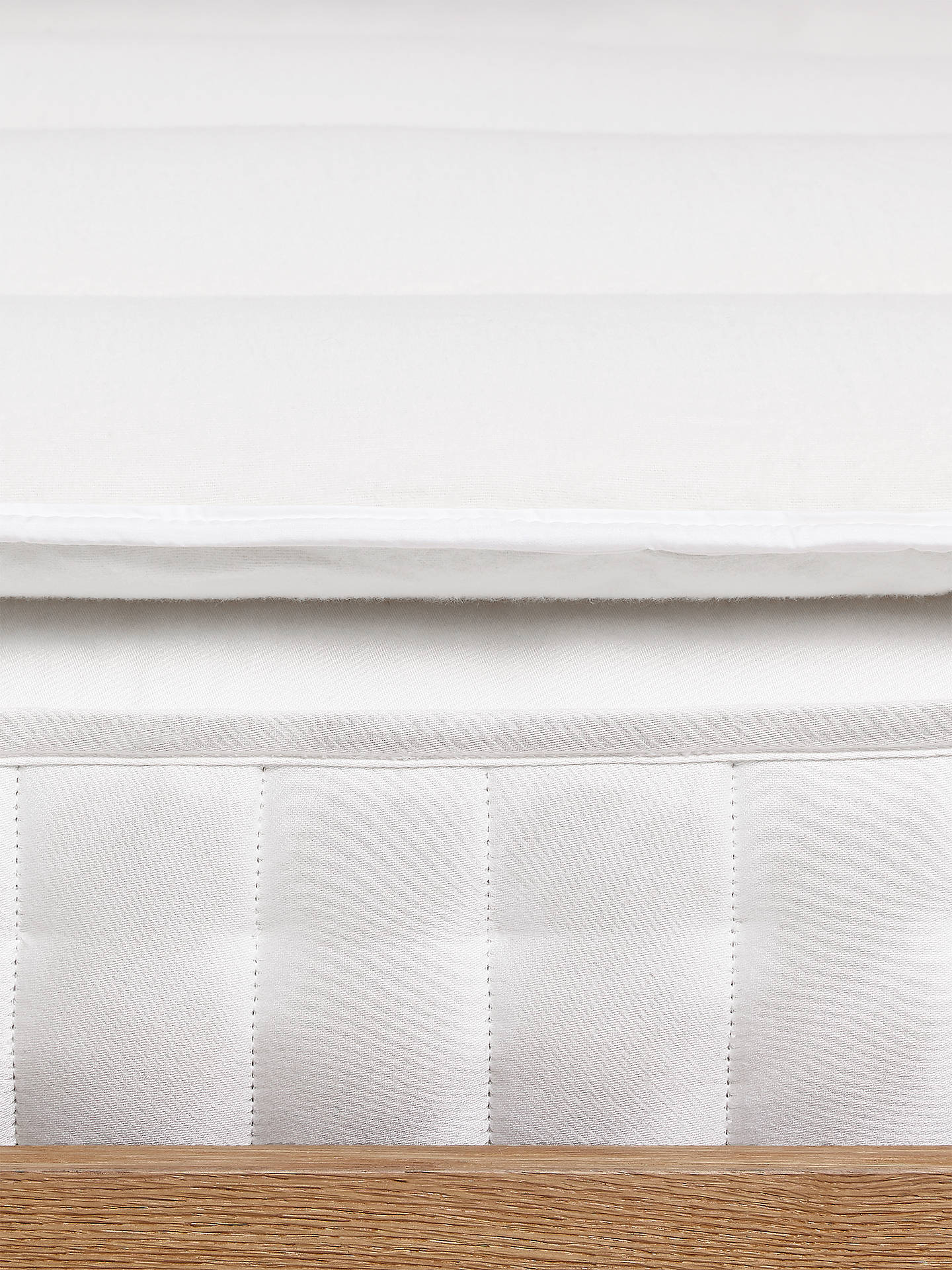 Buy Devon Duvets Natural Devon Wool 5cm Deep Mattress Topper, Single Online at johnlewis.com