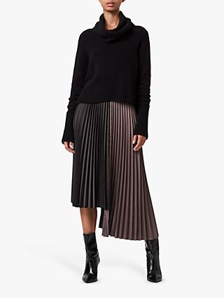 AllSaints Jessie Roll Neck Jumper Dress