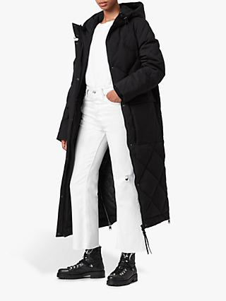 AllSaints Lucie Long Puffer Coat