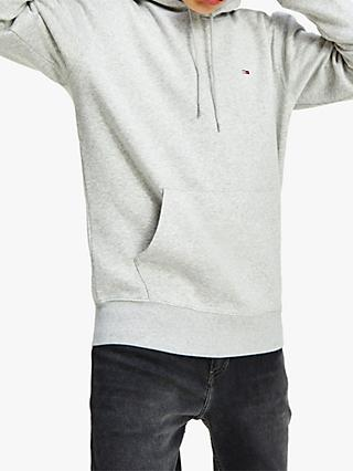 Tommy Hilfiger Small Flag Hoodie, Light Grey