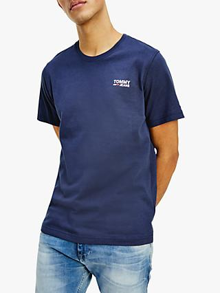Tommy Jeans Corp Logo Crew Neck Tee