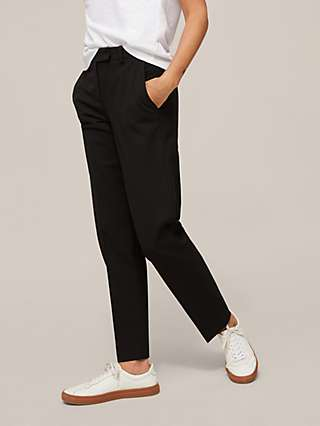 Modern Rarity Straight Leg Trousers, Black