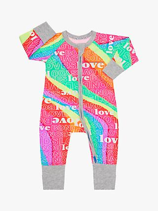 Bonds Baby Super Rainbow Print Wondersuit, Multi