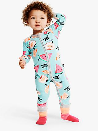 Bonds Baby Picnic Print Wondersuit, Multi