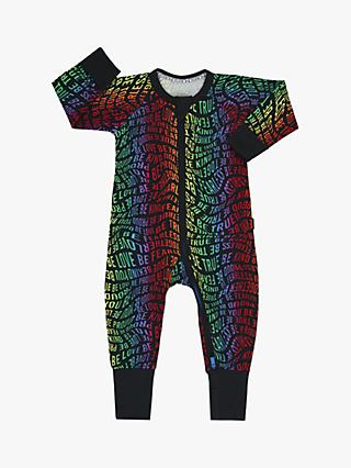 Bonds Baby Be You Pride Print Wondersuit, Multi