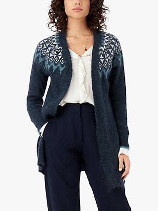 Brora Icelandic Abstract Cardigan, Diesel