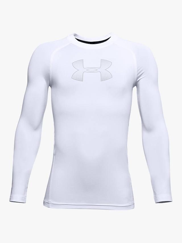 Under Armour Boys HeatGear Long-Sleeve T-Shirt