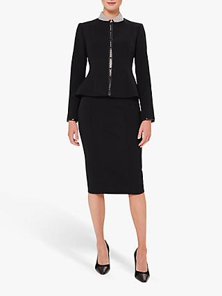 Hobbs Matilda Tailored Jacket, Navy