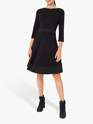 Hobbs Petite Seasalter Dress, Navy