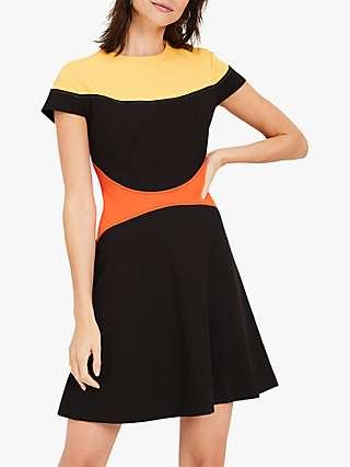 Damsel in a Dress Bradie Colour Block Dress, Multi