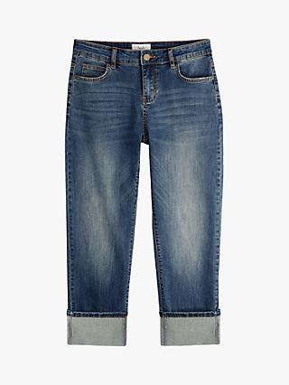 hush Agnes Straight Fit Denim Jeans