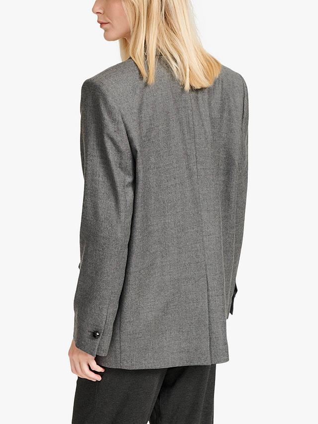 NRBY Jackie Fine Wool Jacket, Grey at John Lewis & Partners