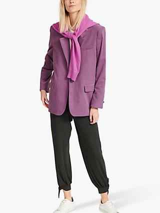 NRBY Byrony Cord Jacket, Berry